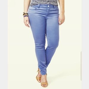 Ashley Stewart periwinkle Jeans